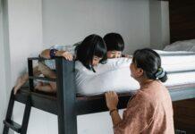 łóżko piętrowe